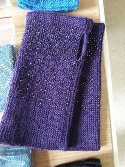 Riešinės violetinės